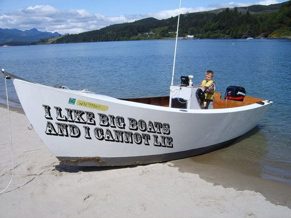 Funny Honest That S What A Good Boat Name Is All About