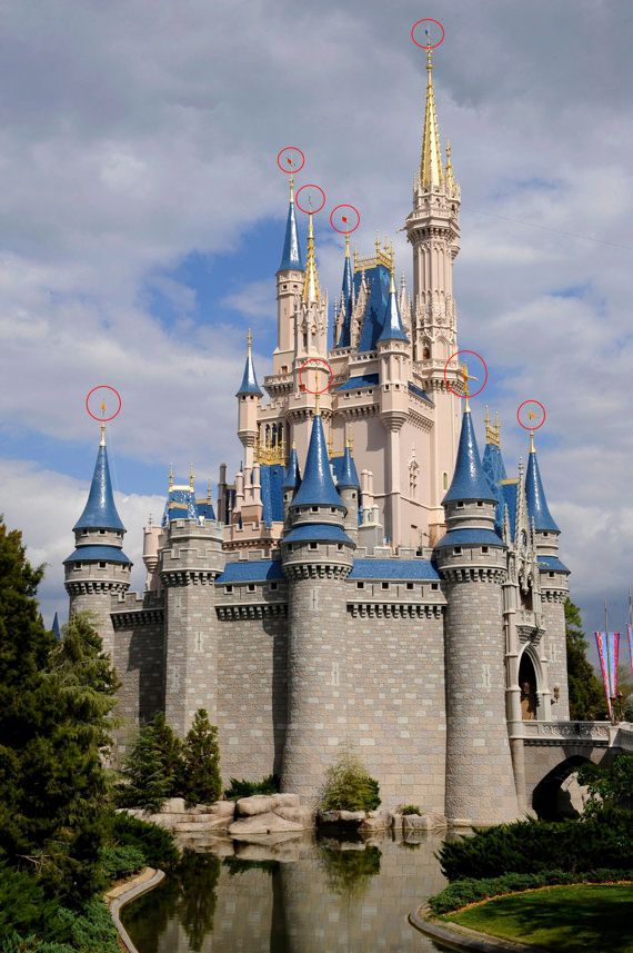 <strong>EXAMPLE: Flags On Cinderella's Castle At Walt Disney World</strong>  Sorry, Mickey. While these aren't the most overt