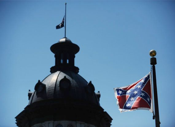 """<strong>EXAMPLE: The Confederate Flag</strong>  The Confederate flag received a score of 10/10, or """"Confederate Flag,"""" mainly"""
