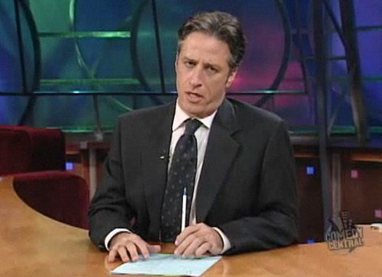 "<strong>Jon Stewart:</strong> ""I celebrated Thanksgiving in an old-fashioned way. I invited everyone in my neighborhood to my"