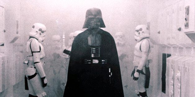 In this 1977 image provided by 20th Century-Fox Film Corporation, Darth Vader, played by David Prowse and voiced by James Ear