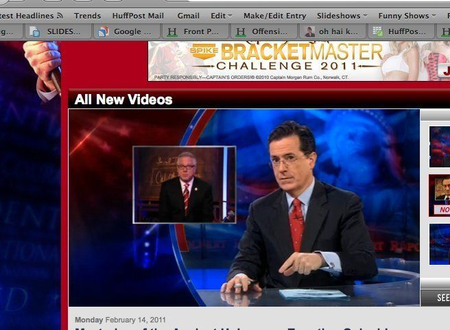 Colbert Dismisses Both Beck And O'Reilly's Egypt Theories (VIDEO