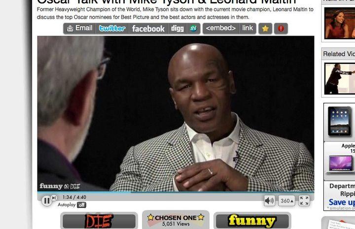 Mike Tyson Talks Oscars With Leonard Maltin (VIDEO) | HuffPost