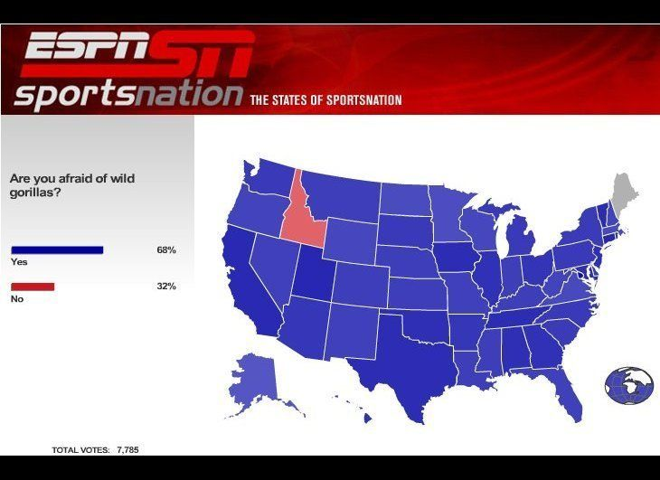 Except Idaho.
