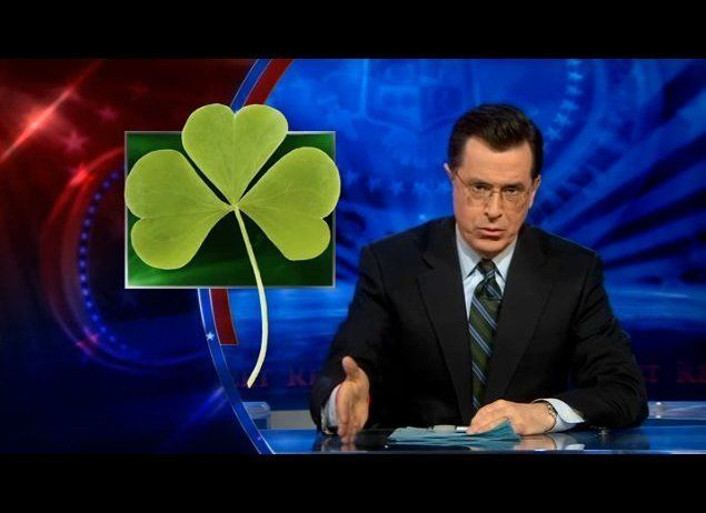 """""""The shamrock is a religious symbol. St. Patrick said the leaves represented the trinity: the Father, the Son and the Holy Sp"""