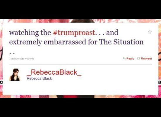 "Apparently, Rebecca thought better of this tweet and removed it.  Fortunately, <a href=""http://thedailywh.at/2011/03/15/tweet"