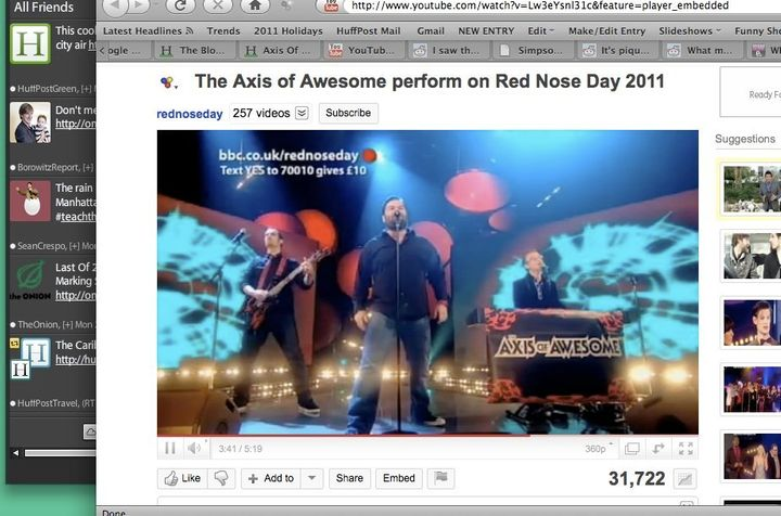 Axis Of Awesome Updates \'Four Chord Song\' To Include \'Double Rainbow ...