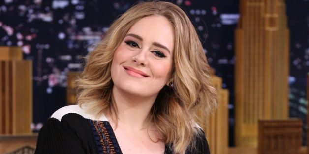 THE TONIGHT SHOW STARRING JIMMY FALLON -- Episode 0373 -- Pictured: Singer Adele on November 23, 2015 -- (Photo by: Douglas G