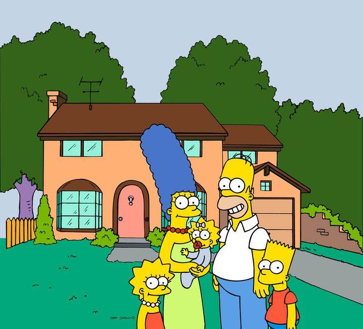 Homer Simpson Invites William Kate To Springfield Picture Huffpost