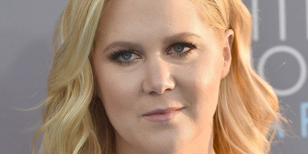 Amy Schumer arrives at the 21st annual Critics' Choice Awards at the Barker Hangar on Sunday, Jan. 17, 2016, in Santa Monica,