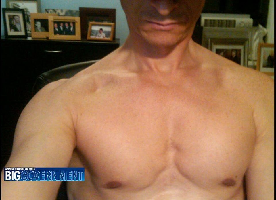 This image obtained by BigGovernment.com shows Representative Anthony Weiner shirtless. Weiner allegedly e-mailed the photo t