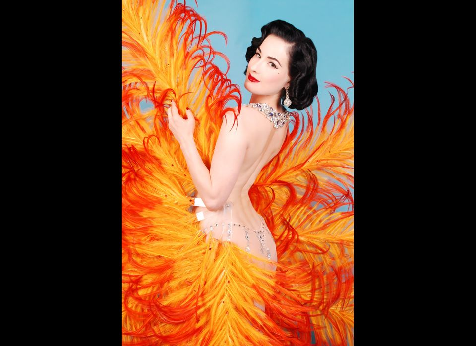 Internationally-renowned neo-burlesque star Dita Von Teese says the best advice she ever got came from Dixie Evans who told h