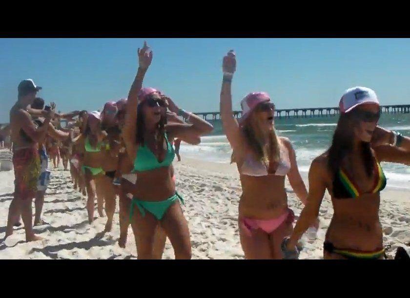 World's Longest Bikini Parade - Panama City Beach - March 6, 2012