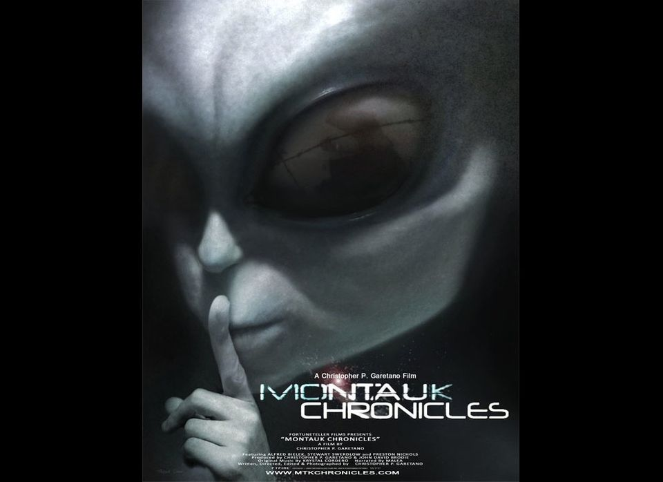"""Montauk Chronicles"" movie poster."