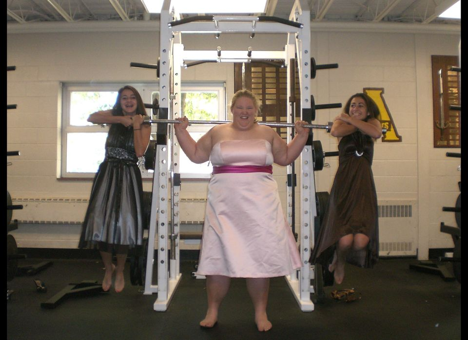 Holley Mangold, 21, (CENTER) hopes to be on the U.S. Olympic weightlifting team, but is still a girly-girl at heart who loves