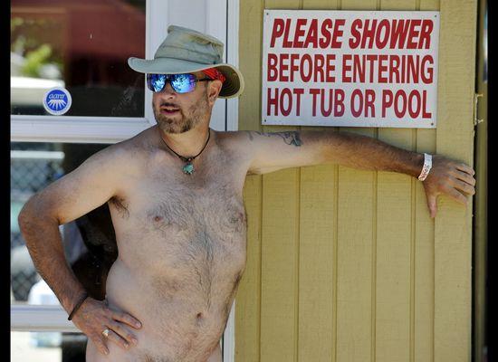 Carolina Foothills Nudist Resort Holds 'Survivor -- Nudist
