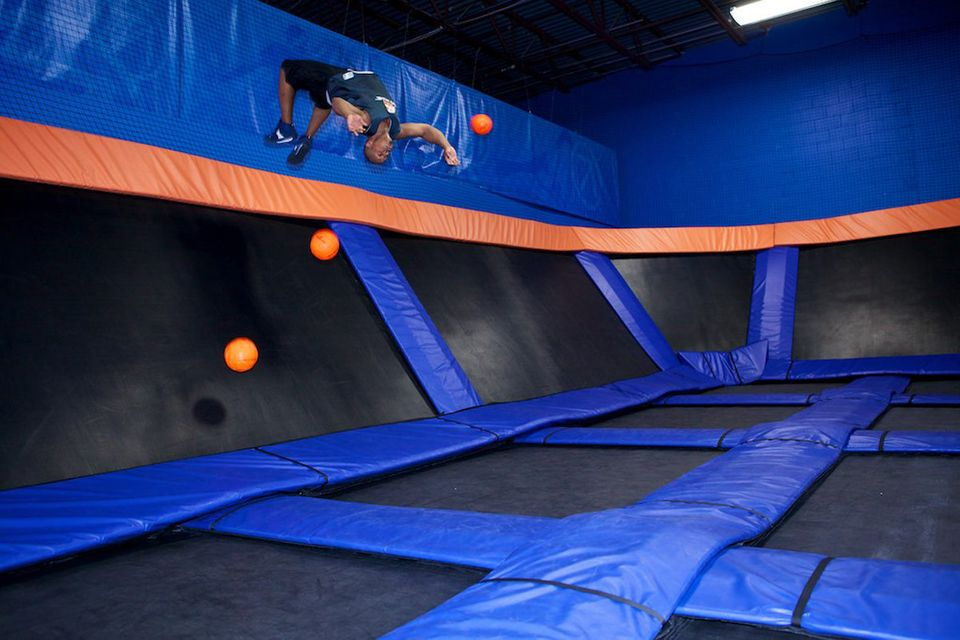 Traditional dodgeball hasn't leaped to the ranks of professional sports, but a trampoline-infused variation could make the ju