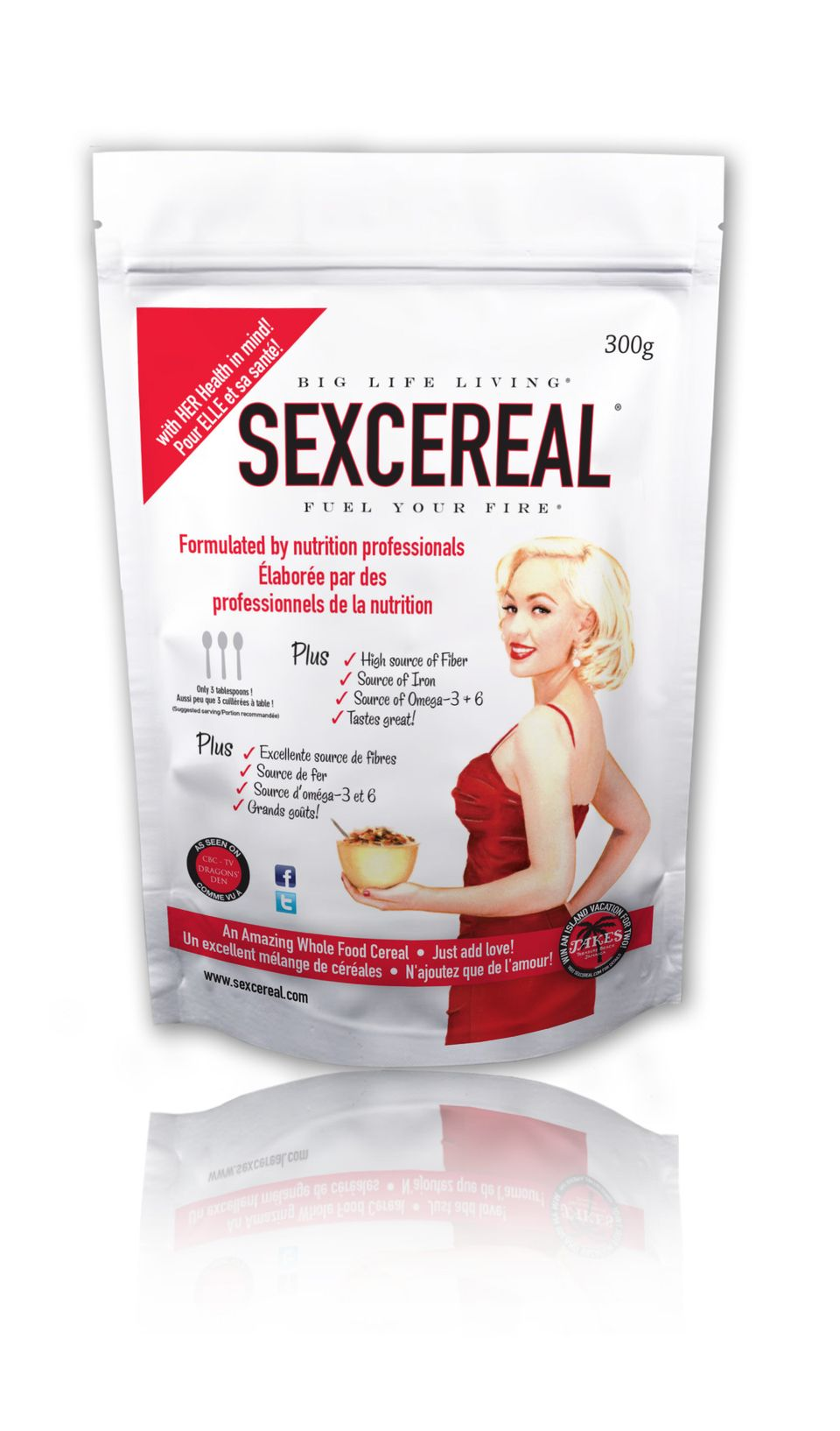 Sexcereal for Women.