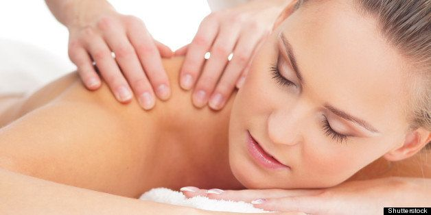 Girl on girl happy ending massage