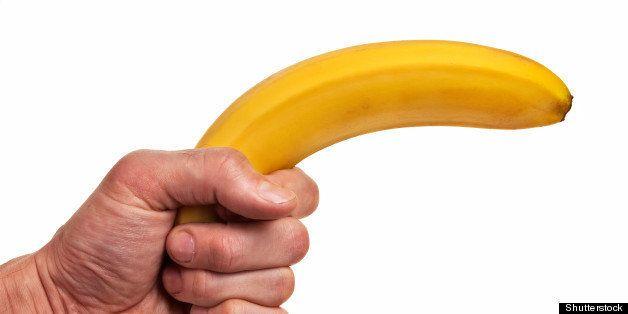 banana fruit gun hold in...