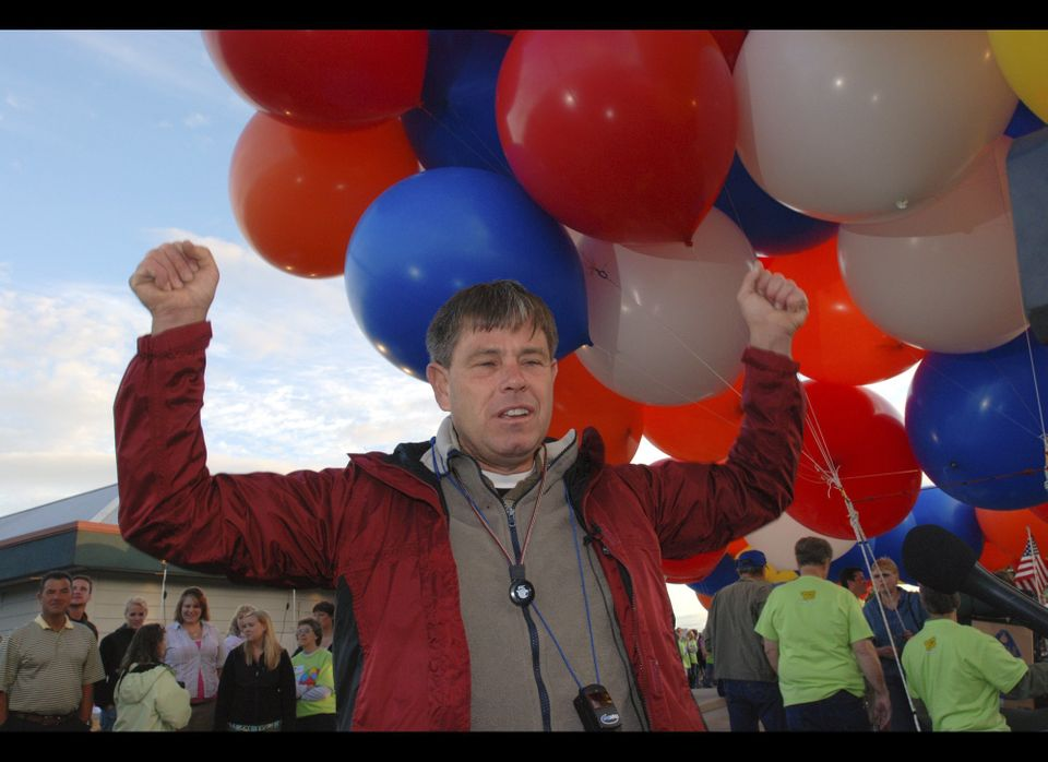 Kent Couch describes the joy of his childhood fantasy of being able to fly by grabbing clusters of helium balloons prior to t