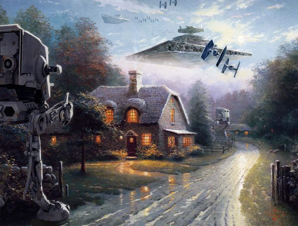 The Empire prepares for battle...or cozying up in a cottage.