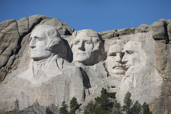 Towering, majestic, and hard as a rock, Mount Rushmore is a symbol of South Dakota. But apparently it's not the only thing mo