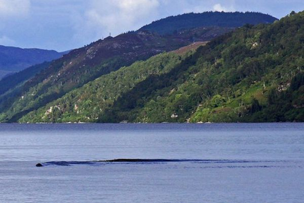 "Was it just an unusual wave? Or maybe amateur photographer David Elder snapped a photo of Nessie, <a href=""https://www.huffpo"