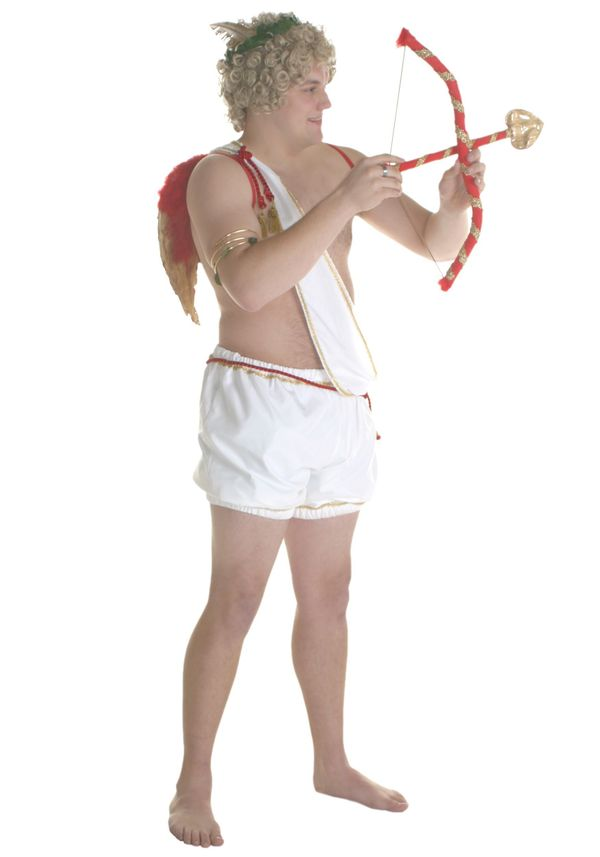 """What is more romantic on Valentine's Day than wearing a <a href=""""http://www.costumesgalore.net/mens-cupid-costume.html"""" targe"""