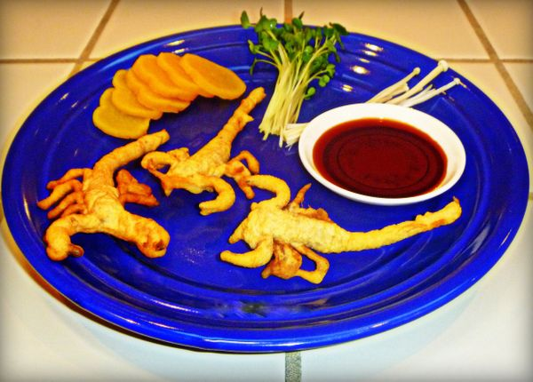 Scorpions taste a lot like crab or lobster, according to Martin, who likes their white flaky flesh. Unlike those crustaceans,