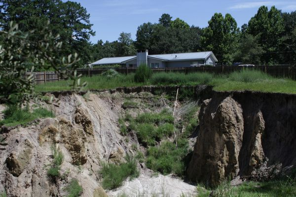 Florida is especially prone to sinkholes because the limestone in the soil is relatively young and hasn't had a chance to get