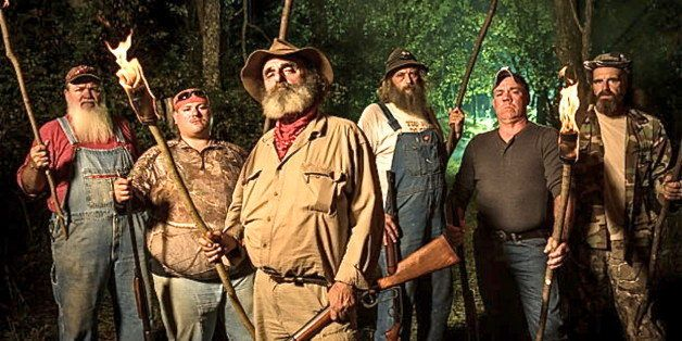 Mountain Monsters Are The Quarry Of Hillbilly Hunters Trying To Bring Em Back Alive Huffpost Drama, adventure, mystery, action, history, family, thriller description: mountain monsters are the quarry of