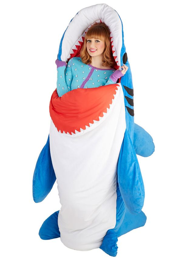 "Does Mom love nature or simply a fan of ""Jaws""? This <a href=""www.modcloth.com/shop/furnish-decorate/sea-nic-adventures-sleep"