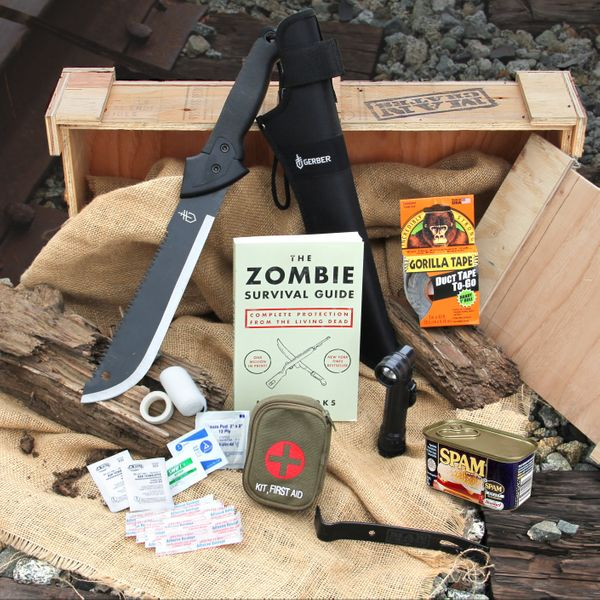 If there is one thing that could mar Father's Day, it's Dad's nervously worrying that the impending zombie apocalypse is abou