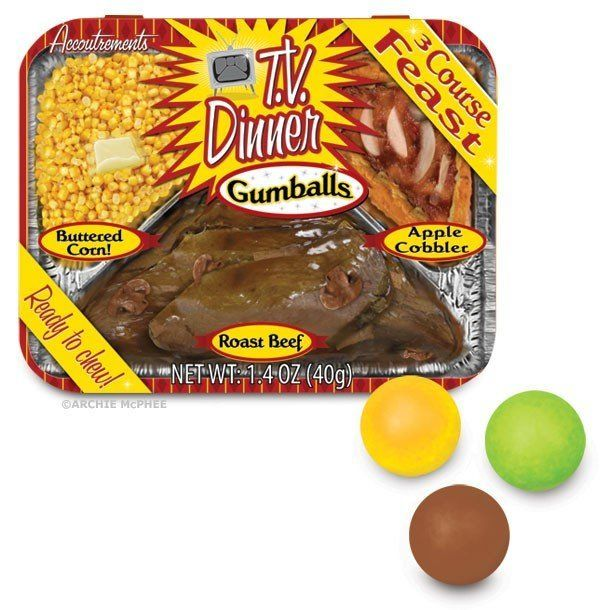 "If you really want to trick trick-or-treaters, treat them to these <a href=""http://www.alwaysfits.com/index.php/all/tv-dinner"