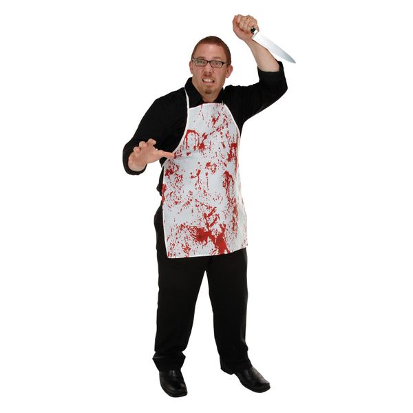 "Looking for the perfect gift for the chef in your life? This <a href=""http://www.partycheap.com/Halloween_Horror_Fabric_Novel"