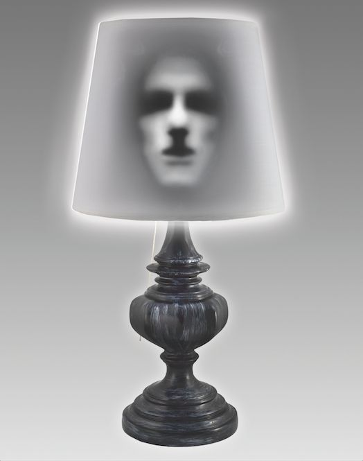"This <a href=""http://www.spirithalloween.com/product/tt-haunted-lamp/"" target=""_blank"">lamp is scary</a> in two ways: 1) It l"