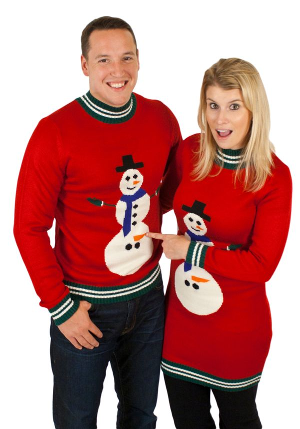 "Some people find the ugly sweaters amusing. Others, like fashion expert Bryce Gruber, think they may have gone too far.  ""My"