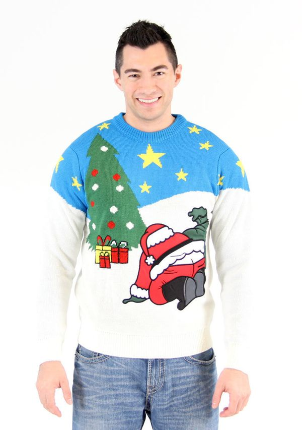 """This might seem to be the """"Year of the Ugly Christmas Sweater,"""" but Cornwell thinks the fact that the sweaters go back on the"""
