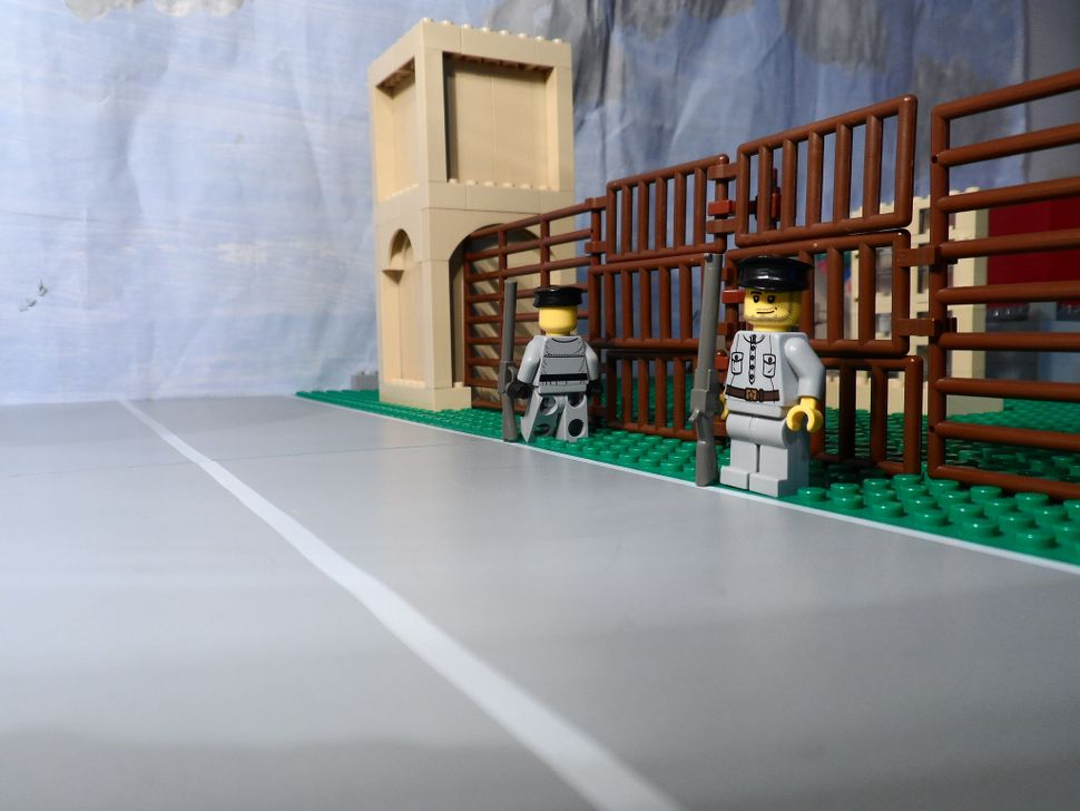 Denno was able to build the detailed LEGO Nazi timeline in only six hours.