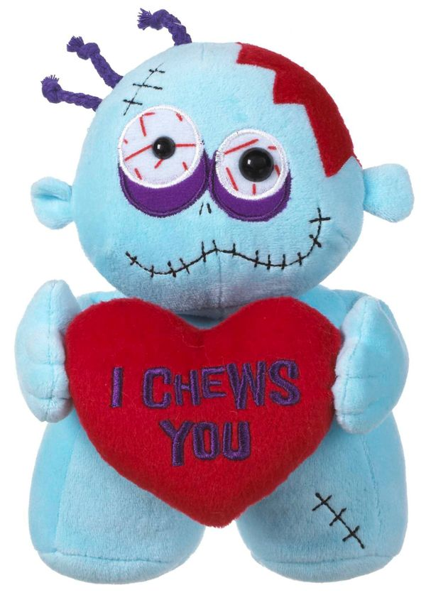 Zombies need love too. Actually, they just need brains. Lots of bra-a-ains. Still, you can show your undead Valentine what's