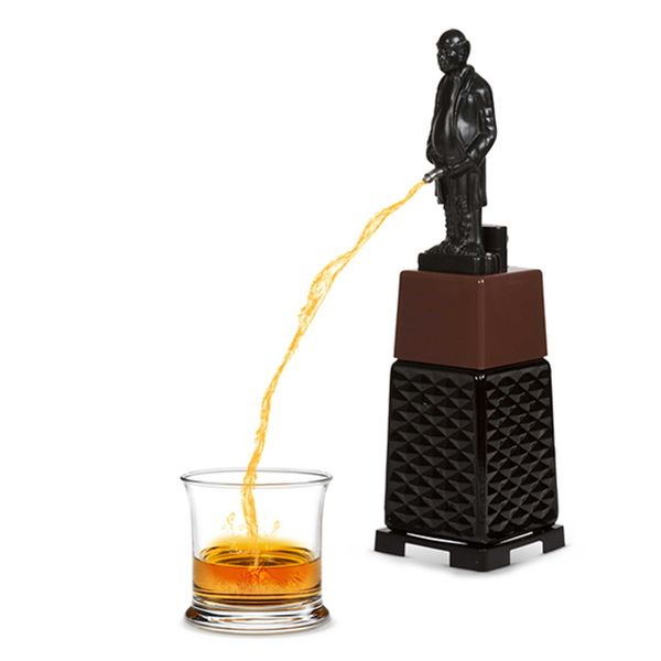 "If you're like us, you believe that liquor tastes best when dispensed <a href=""http://www.wayfair.com/EZ-Drinker-Funny-Old-Ma"