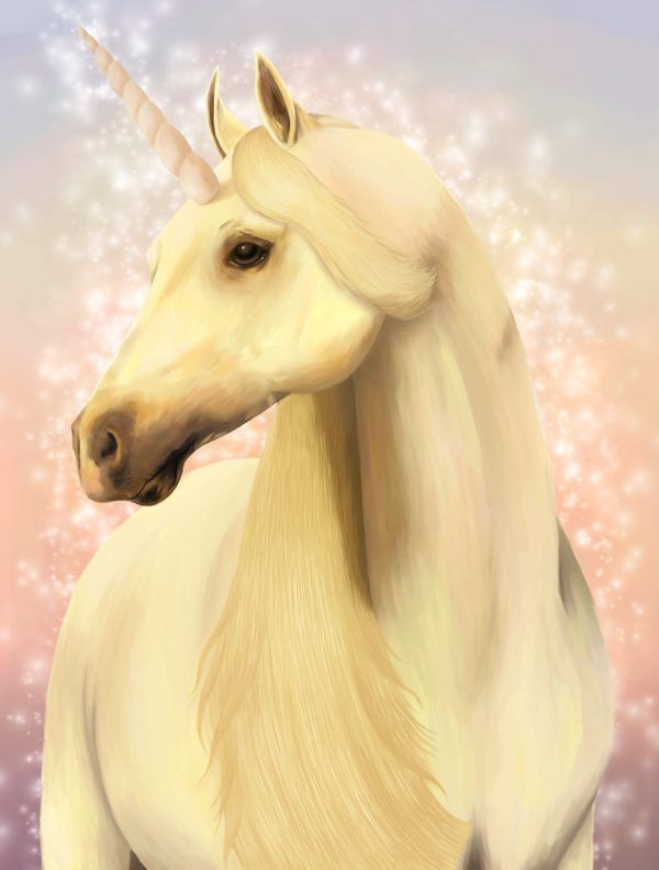 SIKE! All unicorns are magic.