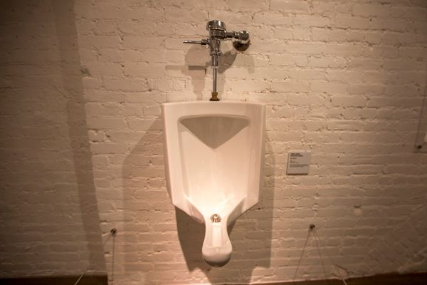 A female urinal.