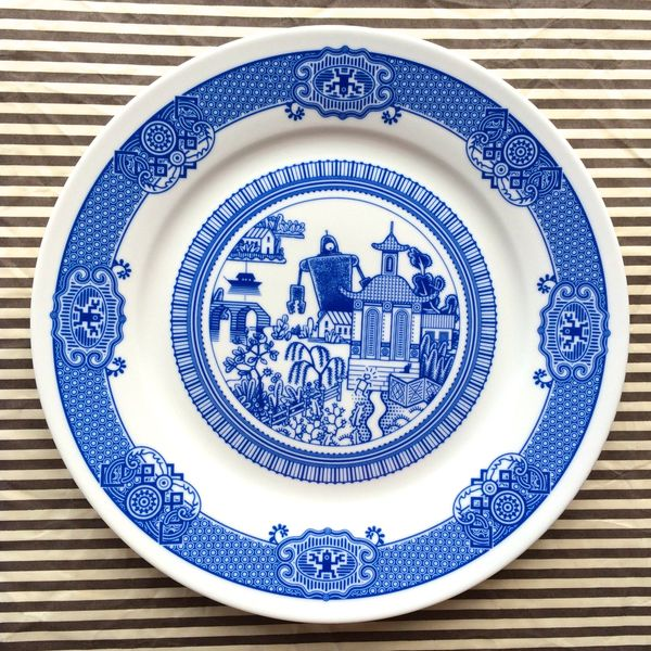 Dinnerware is the hallmark of a classy kitchen, but many of the designs on plates are boring and humdrum. How about spicing y