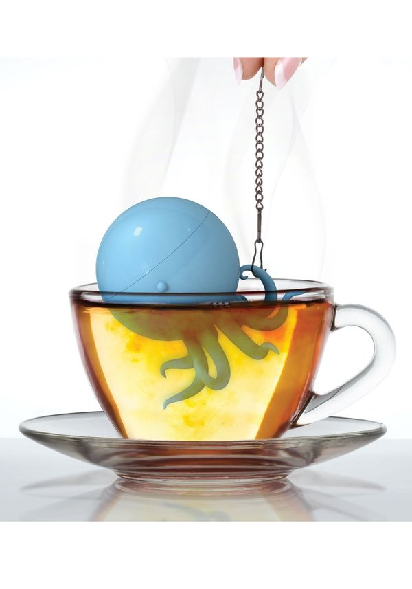 """Tea bags have their place, but they aren't as fancy as having <a href=""""http://www.fun.com/octeapus.html"""" target=""""_blank"""">the"""