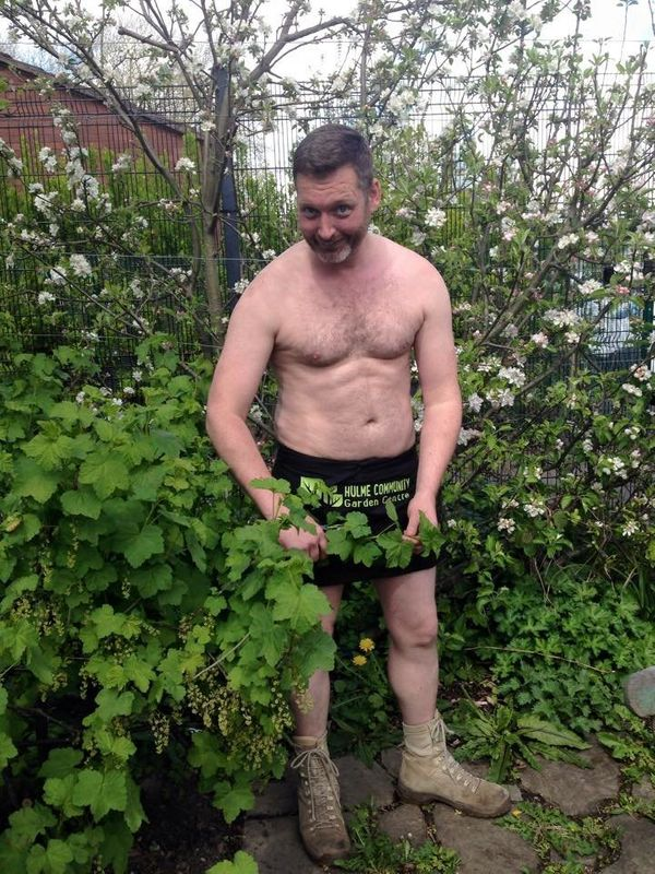 Now in its 10th year, World Naked Gardening Day is traditionally celebrated the first Saturday in May.