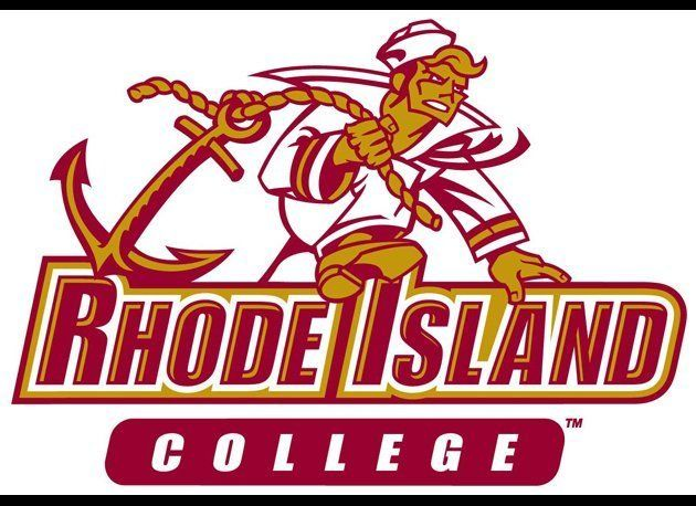 Much to my disappointment, the mascot of Rhode Island College doesn't sport a red suit and mustache and definitely isn't Ron