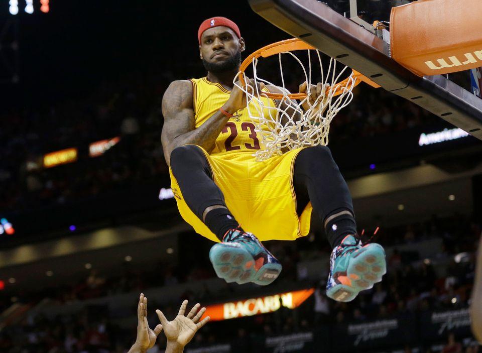 LeBron James on the Cavaliers