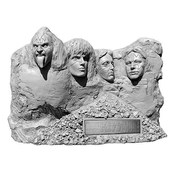 "Dad's world will be rocked all night when he sees this<a href=""http://www.kissmuseum.com/kiss-mount-kissmore-polystone-sculpt"